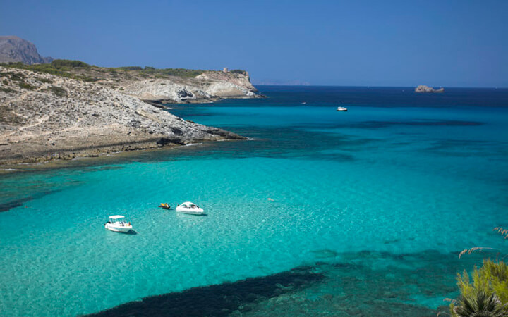 fishingtripmajorca.co.uk boat trips to Cala Torta in Majorca