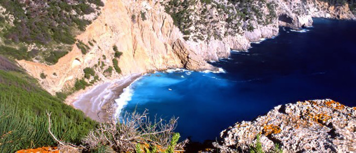fishingtripmajorca.co.uk boat trips to Coll Baix in Majorca